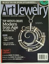 Art Jewelry Modern Iron Age Artifacts Bezel Tips Steel Mar 2015 FREE SHIPPING JB