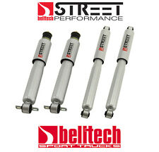 99-06 Silverado Sierra Street Performance Front & Rear Shocks for 2/4 Drop