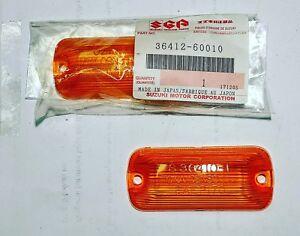 Suzuki Jimny LJ80 Side Turn Signal Lamp Lens LH RH Fender Signal Lamp Lens