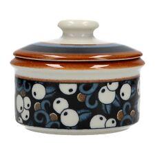An Arabia Taika lidded pot 1970's Finnish design