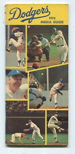 1974  Los Angeles Dodgers baseball  Media Guide MBX55