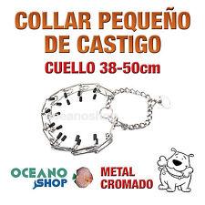 COLLAR DE CASTIGO PERRO CUELLO Peq 38-50cm ANCHO 3cm ADIESTRAMIENTO L13 1944