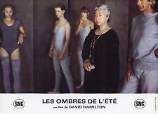 DAVID HAMILTON LES OMBRES DE L'ÉTÉ  1979 VINTAGE PHOTO LOBBY CARD N°1