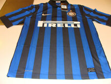 Team Inter Milan 2011/12 Soccer Home Jersey Short Sleeves Boys L Series A League