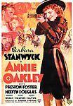 Annie Oakley (DVD, 2007) Brand New Barbara Stanwyck