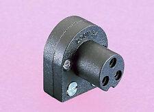 Bulgin angolo retto 3 pin connettore di alimentazione per Naim & Quad Nuova attrezzatura.