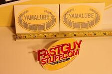 VINTAGE Yamaha Yamalube sticker IT DT RT CT AT motocross YZ125 250 360 400 465