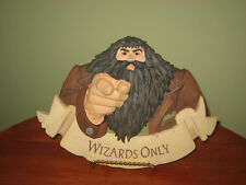 HALLMARK HARRY POTTER PLAQUE ~WIZARDS ONLY~