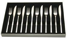 Stellar Rochester 6 Steak Knife and Fork Set Stainless Steel BL36