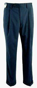 Ralph Lauren Men's The Total Comfort Suit Dress Pants 38x30 Blue MSRP $79.50