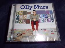 OLLY MURS In Case You didn` t Know Pop Musik CD 13 Tracks NEU+foliert!!!