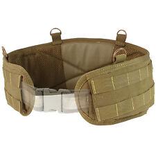 "Condor MOLLE PALS Tactical OPS Web Battle Belt Size L Large 42""-46"" Coyote Brown"