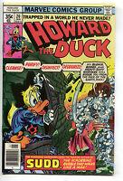 Howard The Duck 20 Marvel 1978 NM- Dr. Bong