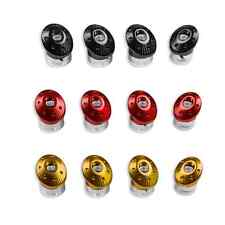 DUCATI MONSTER FRAME PLUGS BLACK BILLET ALUMINIUM 97380651A