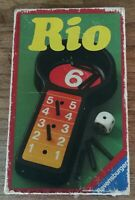 Jeu de société Ravensburger RIO - 1981 - petit format poche vintage