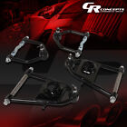 TUBULAR STEEL UPPER+LOWER SUSPENSION CONTROL ARMS KIT FOR 74-78 FORD MUSTANG II
