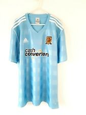 Hull City Away Shirt 2011. XL. Official Adidas. Blue Adults Football Top Only.