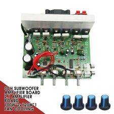 2.1 Amplifier Board 3CH Subwoofer Amplifier Board 100W*2+120W*1 Fan Cooling