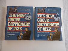 New Grove Dictionary of Jazz  Barry Dean Kernfeld1988, Vols 1 & 2 ~ VERY NICE!