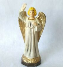 Vintage Christmas Nativity Angel Standing Hand Up Japan 5 1/2 Inches