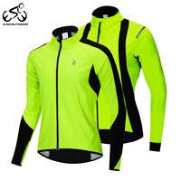 Giacche da ciclismo Maglie invernali manica lunga pile termico Cappotto Jacket