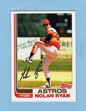 1982 Topps NOLAN RYAN HOF Houston Astros #90 Baseball Card - MAKE OFFER