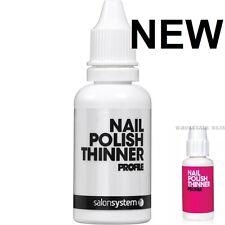 Salon System Profile Nail Varnish Polish Thinner 30ml  NEW STOCK - NEW BOTTLE