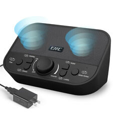 White Noise Maker Sound Machine Sleep Sound Therapy Relax Rain Fan 38 Sounds_BK