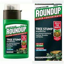 Roundup Tree Stump Rootkiller Bottle 250ml Concentrated Kills Brambles/Nettles -