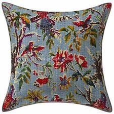 Indian Hademade Sofa Cover Kantha Pillowcase Dorm Décor Vintage Bohemian Throw