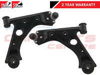 FOR VAUXHALL CORSA D FRONT LOWER WISHBONE CONTROL SUSPENSION ARMS PAIR 2006-