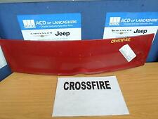 CHRYSLER CROSSFIRE REAR SPOILER 2268 Red