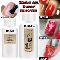 18ml 28ml Burst Magic Gel Nail Remover Polish Soak off Acrylic Clean Degreaser