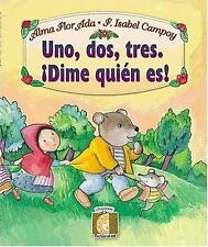 Uno, Dos, Tres: Dime Quien Eres! (One, Two, Three: Who Is It?)-ExLibrary