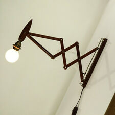 Wand Lampe Teak Scheren Leuchte Vintage Dansk Kaare Klint Scissor Lamp 60er