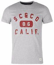 "Soulcal & Co Camiseta"" Calif 86"" Gris Nuevo"