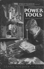 1933 Craftsman 1933  and Companion Power Tools Instructions FREE SHIPPING