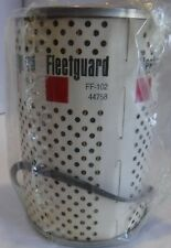 Fleetguard Fuel Filter # FF102 (6 Filters) - NOS (New Old Stock)
