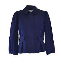 ** Jigsaw ** Blue Jacket ** Silk & Hemp ** Size 10 ** Casual or Business **