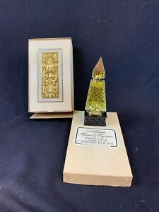 Vintage AVON Decanter Perfume Bottle Pyramid of Fragrance CHARISMA 556