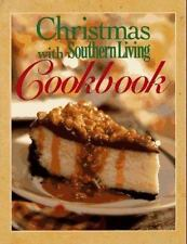 CHRISTMAS with SOUTHERN LIVING Cookbook (1997) 200 RECIPES, HELPFUL VARIATIONS