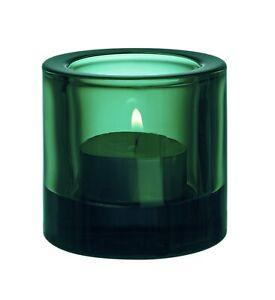 Iittala KIVI Marimmeko 60mm/2.36 In Votive candle holder Discontinued Emerald