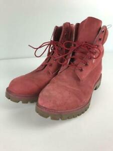 Timberland  A1149 4040 Lace Up  Us9.5  Size US 9.5 Red From Japan boots 6499