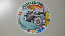 Adesivo Sticker NIKON  NIKONOS IV A   diametro cm 12,5 circa