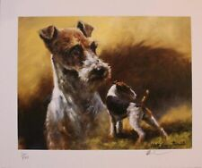 """New listing """"Fox Terrier"""" by the Late Mick Cawston Htf Great Deal for Collector"""