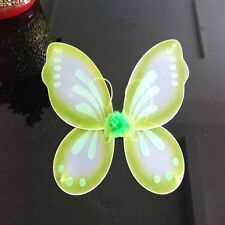 "New Halloween Kids Adults Butterfly Fairy Wings Tinkerbell Pixie Costume 18""x19"""
