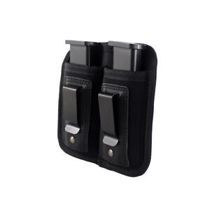 Concealed Carry Soft IWB Tool Holder Universal Handgun IWB Double Mag Holster