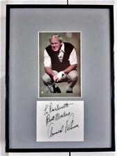 ARNOLD PALMER Personalized HAND SIGNED AUTOGRAPH & PHOTO Professionally Framed