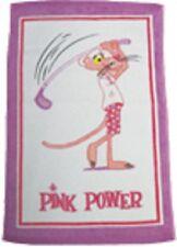 Pink Panther Golf Towel (16x25)