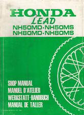 Honda NH50MD NH50MS NH80MD NH80MS Lead Shop Manual